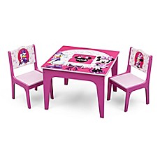 image of Delta™ Disney® Minnie Mouse 3-Piece Deluxe Table and Chair Set