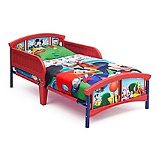 image of Delta© Disney© Mickey Mouse Plastic Toddler Bed