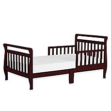 image of dream on me sleigh toddler bed in cherry