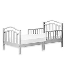image of Dream On Me Eldora Toddler Bed in Cool Grey