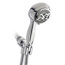 image of waterpik elite twin turbo handheld showerhead - Hand Held Shower Heads