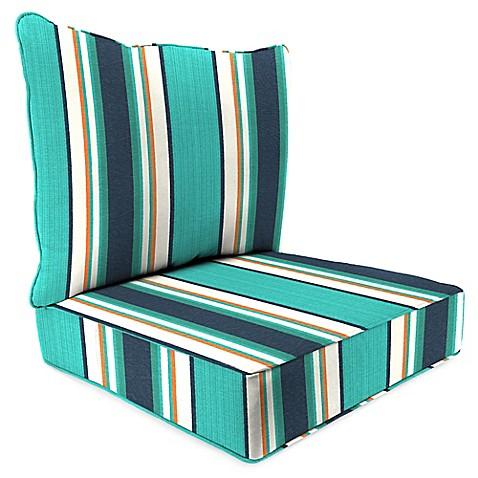 Buy 45 Inch X 25 Inch 2 Piece Deep Seat Chair Cushion In