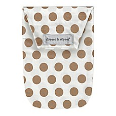 image of Diapees and Wipees Wipes Case in Gold Dots