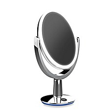 vanity mirror. image of Super Star Dual sided LED Vanity Mirror  Travel Mirrors Lighted Bed Bath Beyond