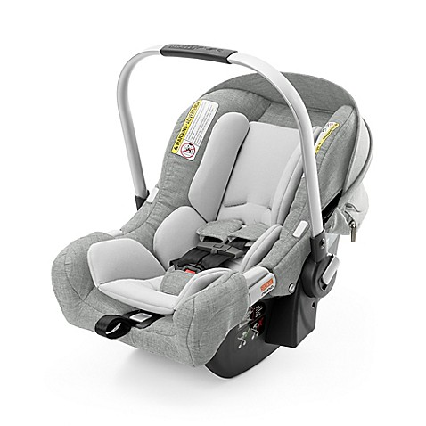 stokke pipa by nuna infant car seat with base in grey melange buybuy baby. Black Bedroom Furniture Sets. Home Design Ideas