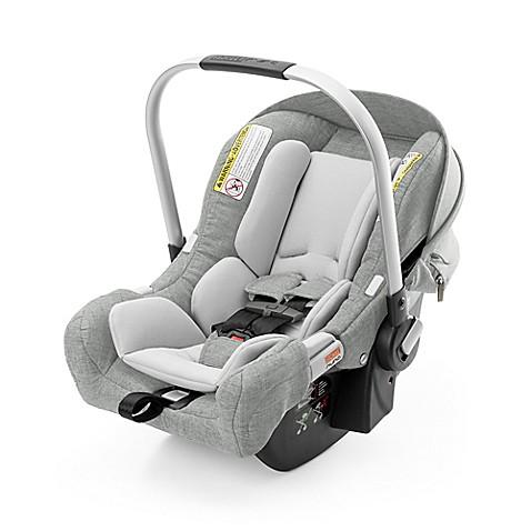 stokke pipa by nuna infant car seat with base in grey melange buybuy baby. Black Bedroom Furniture Sets. Home Design Ideas