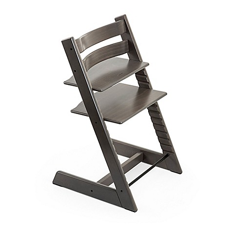 Stokke® Tripp Trapp® Hazy Grey High Chair and Accessories - Bed Bath & Beyond