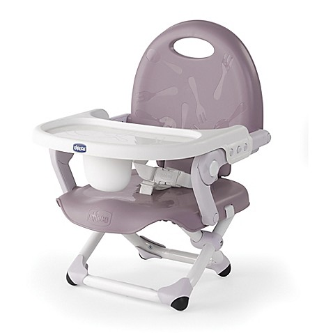 chicco pocket snack portable booster seat in lavender bed bath beyond. Black Bedroom Furniture Sets. Home Design Ideas