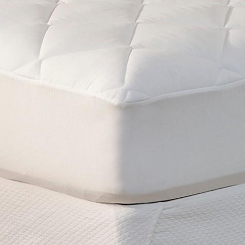 spring air® won't go flat® mattress pad - bed bath & beyond
