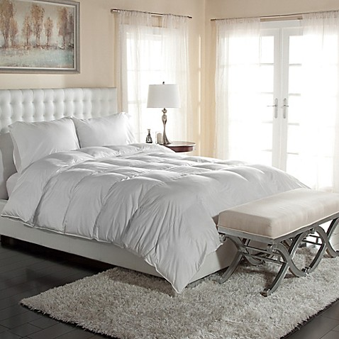image of primaloft down alternative comforter in white