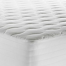 image of Therapedic® 250-Thread Count Tencel® Waterproof Mattress Pad in White