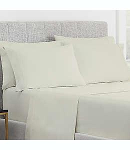 Fundas estándar/queen de algodón para almohadas Claritin® Allergen Barrier color arena