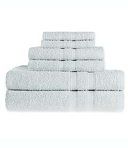 Set de toallas de algodón Simply Essential™ color azul