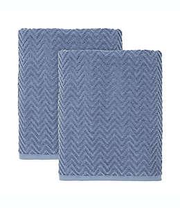 Set de toallas de medio baño de algodón Simply Essential™ color gris tormenta