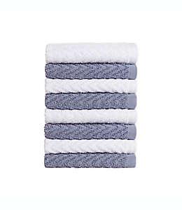 Set de toallas faciales de algodón Simply Essential™ color gris tormenta