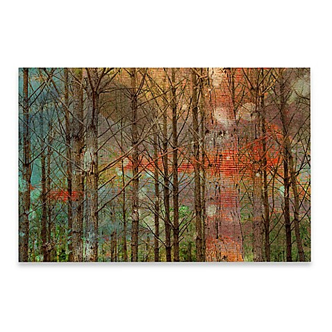 buy marmont hill through the trees 60 inch x 40 inch canvas wall art from bed bath beyond. Black Bedroom Furniture Sets. Home Design Ideas