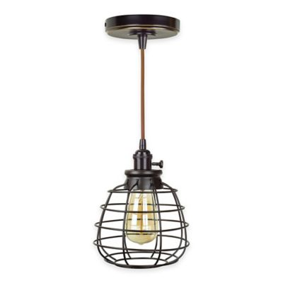 Litex Mix and Match Mini Pendant Light and Swag in Brushed Nickel