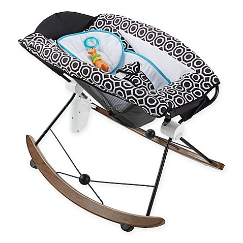 Jonathan Adler® Crafted by Fisher-Price® Deluxe Smart Connect™ Rock 'n Play Sleeper