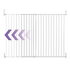 image of Dreambaby® Broadway Wide and Tall Expandable Gate in White