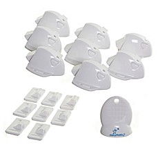 image of Dreambaby® 8-Pack Adhesive Magnetic Locking System