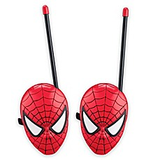 image of Spiderman Web Slinger Short Range Walkie Talkies (Set of 2)