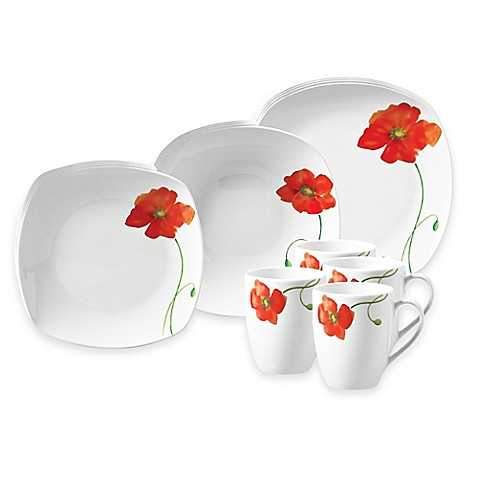 Tabletops Galleryu0026reg; Poppy Dinnerware Collection
