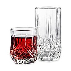 image of Luminarc Brighton 16-Piece Drinkware Set