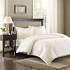 image of Premier Comfort Artic Fur Down Alternative Comforter Mini Set in Ivory