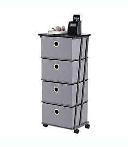 Carrito organizador Studio 3B™, con 4 cajones en gris