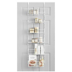 SALT™ Pantry Organizer in White  sc 1 st  Bed Bath u0026 Beyond & Over The Door Organizers | Bed Bath u0026 Beyond