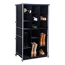 Image Of Fabric Boot And Shoe Organizer