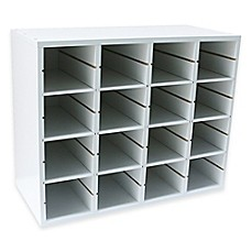 image of Real Simple® Shoe Organizer in White