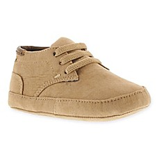 image of Kenneth Cole Newborn Nova Suede Bootie in Tan