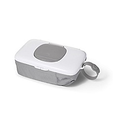 image of OXO tot® On-the-Go Wipes Dispenser with Diaper Pouch in Grey