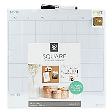 image of Square Dry Erase Calendar in White
