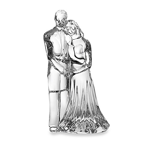 waterford crystal wedding cake topper waterford 174 wedding sculpture bed bath amp beyond 21672
