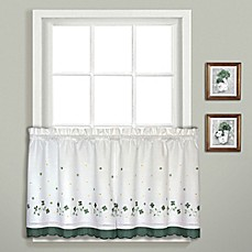 Amazing Image Of Gingham Window Curtain Tier Pair
