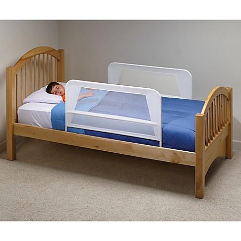 KidCoreg Mesh Bed Rails In White Set Of 2
