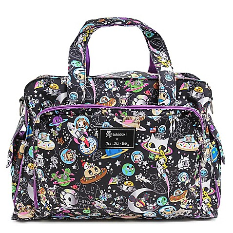 tokidoki x ju ju be be prepared diaper bag in space place pattern buybuy baby. Black Bedroom Furniture Sets. Home Design Ideas