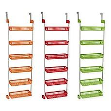 Image Of Household Essentials® 6 Basket Over The Door Organizer