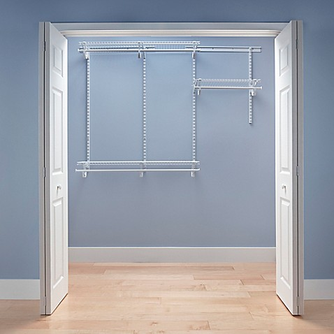 Lovely ClosetMaidu0026reg; ShelfTracku0026reg; 4 Foot To 6 Foot Wire Closet Organizer Kit  In