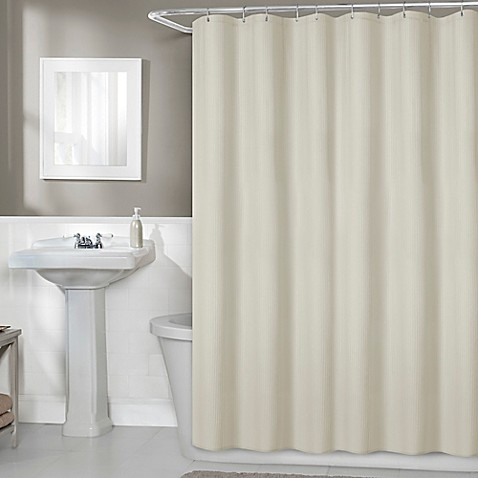 image of titan 70inch x 72inch fabric shower curtain liner