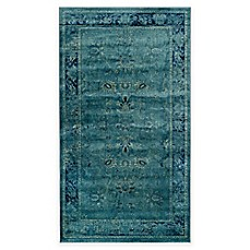 image of Safavieh Vintage Palace Rug in Turquoise