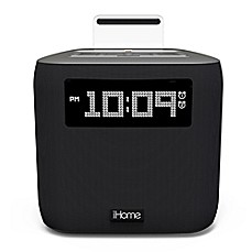image of iHome® iPL24 Dual Alarm FM Clock Radio with Lightning Connector