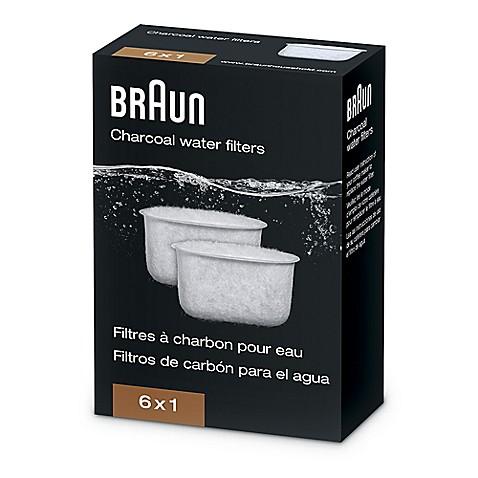 braun charcoal water filter for braun brewsense coffee makers