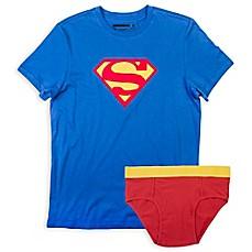 Image Of Underoos® Superman Menu0027s Brief And T Shirt Set