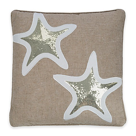 Levtex Home Blue Maui Starfish Throw Pillow - Bed Bath & Beyond