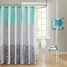 Image Of Intelligent Design Adel Printed Shower Curtain