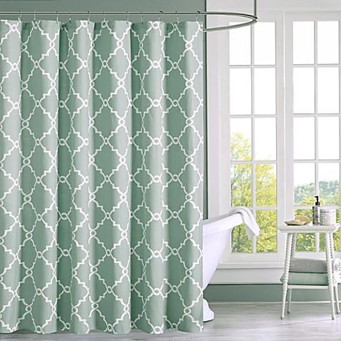 Madison park saratoga shower curtain bed bath beyond - Madison park bathroom accessories ...