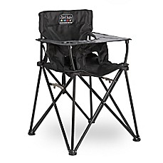 image of ciao! baby™ Portable High Chair in Black